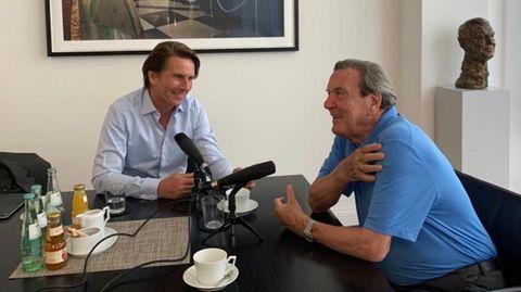 """""""Die Agenda"""": Altkanzler Gerhard Schröder mit eigenem Podcast"""