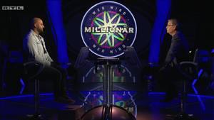 """Richtig vorgesagt: """"Wer wird Millionär?""""-KandidatHaidar Chahrour konnte sich bei Günther Jauch bedanken."""