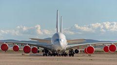 Durch die Corona-Krise hat Air France den Abschied aller ihrer A380 vorgezogen: Die Fluggesellschaft war stolz, als erste Airline in Europa den Super-Airbus 2009 in die Flotte aufzunehmen