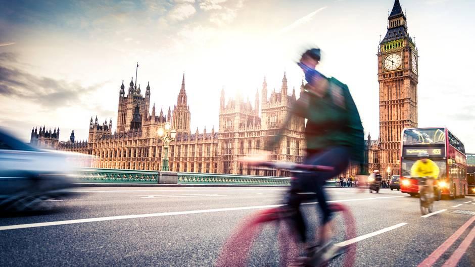Die Pandemie macht London zur Stadt der Radfahrer