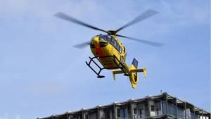 Hubschrauber als Symbolfoto für Nachrichten aus Deutschland