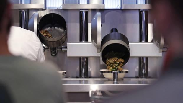 Robo-Küche im Spyce