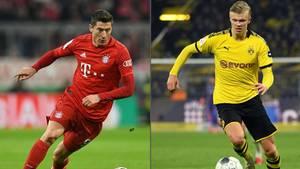 """Im """"deutschen Classico"""" treffen Borussia Dortmund und Bayern München aufeinander"""