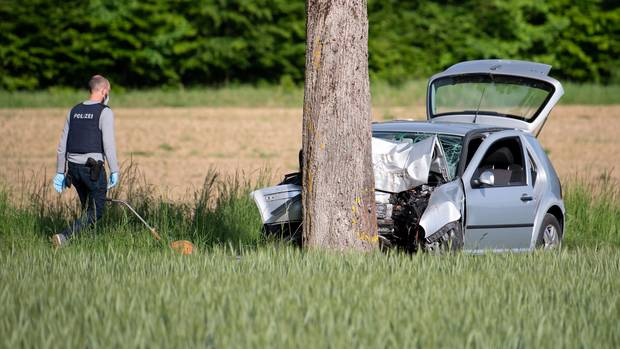 Autounfall Bayern