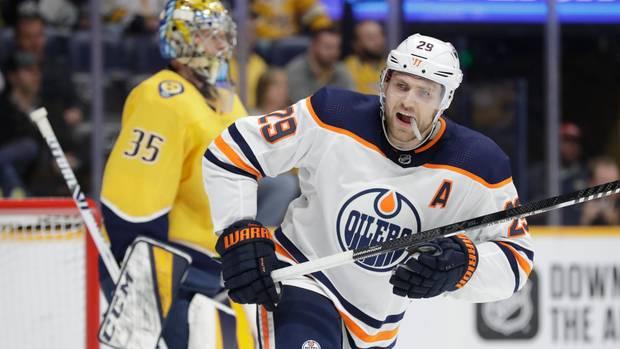 Leon Draisaitl spielt für das kanadische Team Edmonton Oilers