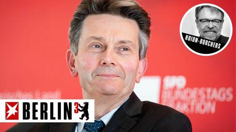 Berlin hoch 3 zum möglichen SPD-Kanzlerkandidaten Rolf Mützenich