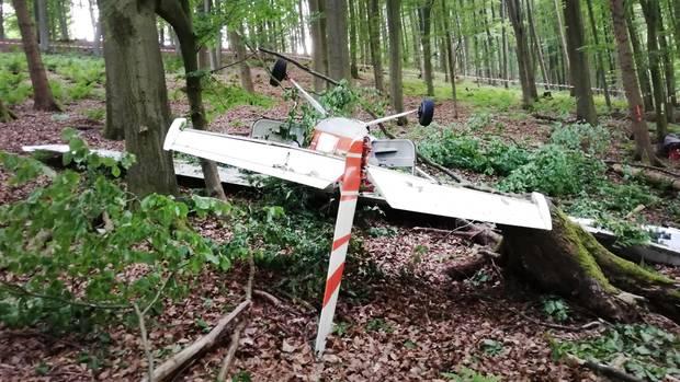 nachrichten deutschland - absturz flugzeug