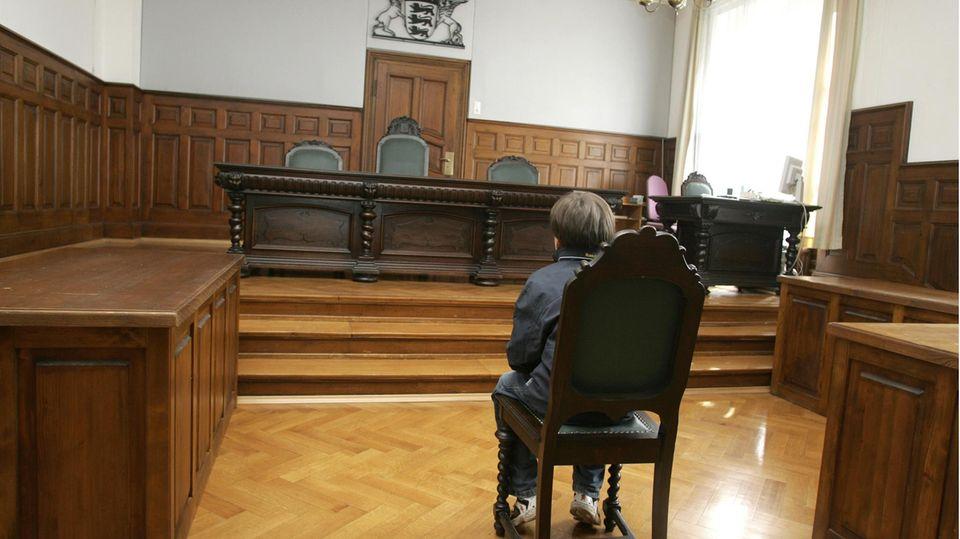 Kind vor Gericht