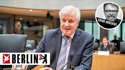 Stur an seinen Irrtümern festzuhalten und sie vehement zu verteidigen, ist kein Ausweis von Standhaftigkeit: Horst Seehofer
