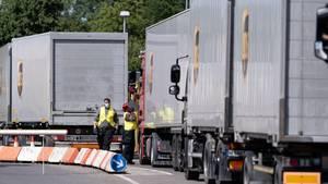 Langenhagen: Mitarbeiter des Postdienstleister UPS in Langenhagen
