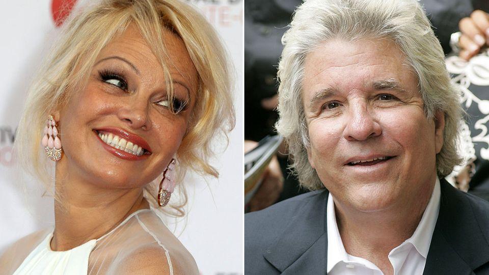 Pamela Anderson dementiert ihre Ehe mit Filmproduzent Jon Peters