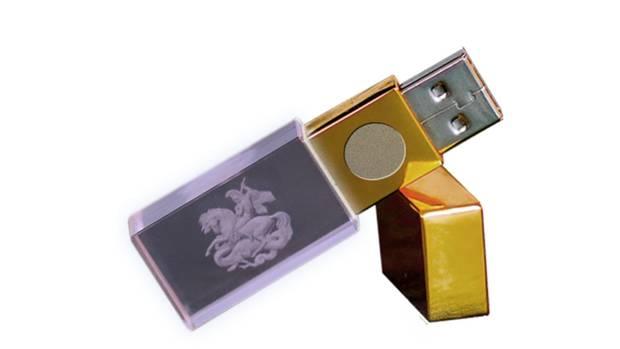 """Der """"5G Bioshield"""" entpuppte sich im Labor als gravierter USB-Speicher"""