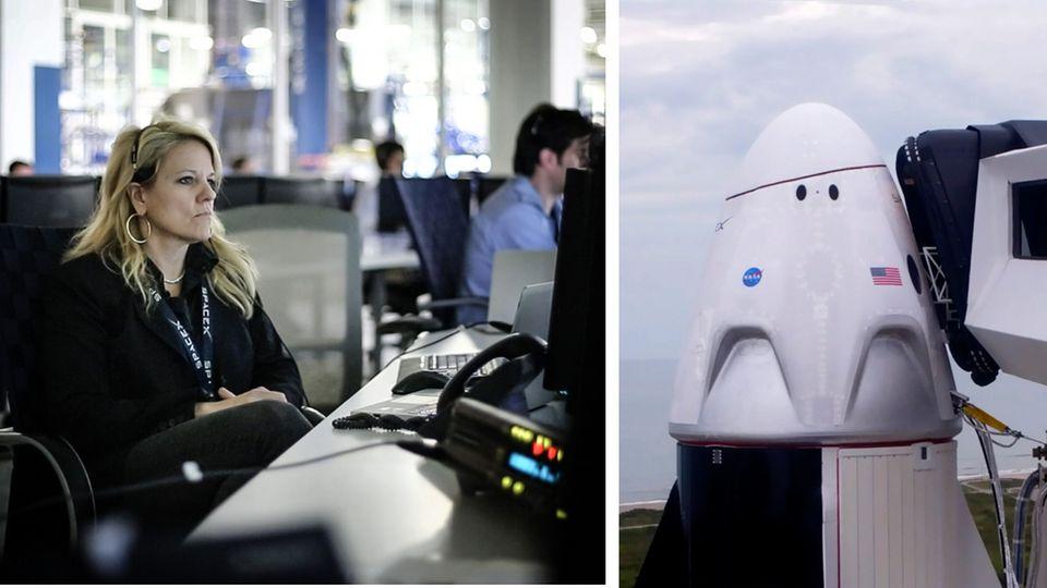 Gwynne Shotwell ist die wirkliche Raketenfrau von SpaceX.
