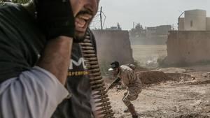 InLibyen herrscht Krieg und Chaos. Die Zentralregierung hat auf viele Regionen keinen Zugriff.
