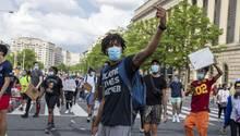Demonstranten in Washington, D.C.