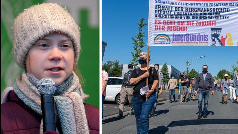 Datteln 4: Umweltschützer protestieren gegen Kraftwerk in NRW