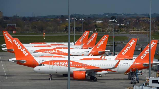 Noch hat der britische BilligfliegerEasyjet alle Jets am Boden geparkt
