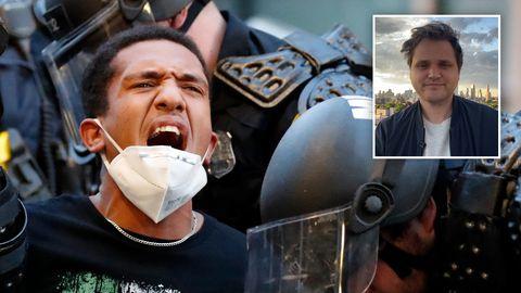 Proteste in den USA: stern-Korrespondent Nicolas Büchse berichtet aus New York City.