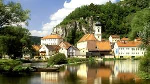 Kallmünz in der Oberpfalz
