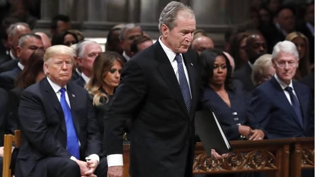 George W. Bush und Donald Trump