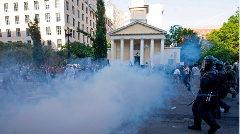 Protest Washington Gas