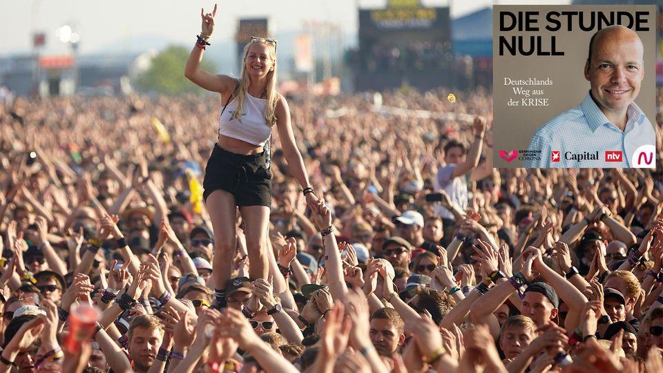 Wann es Festivals wie Rock am Ring wieder geben wird, ist unklar