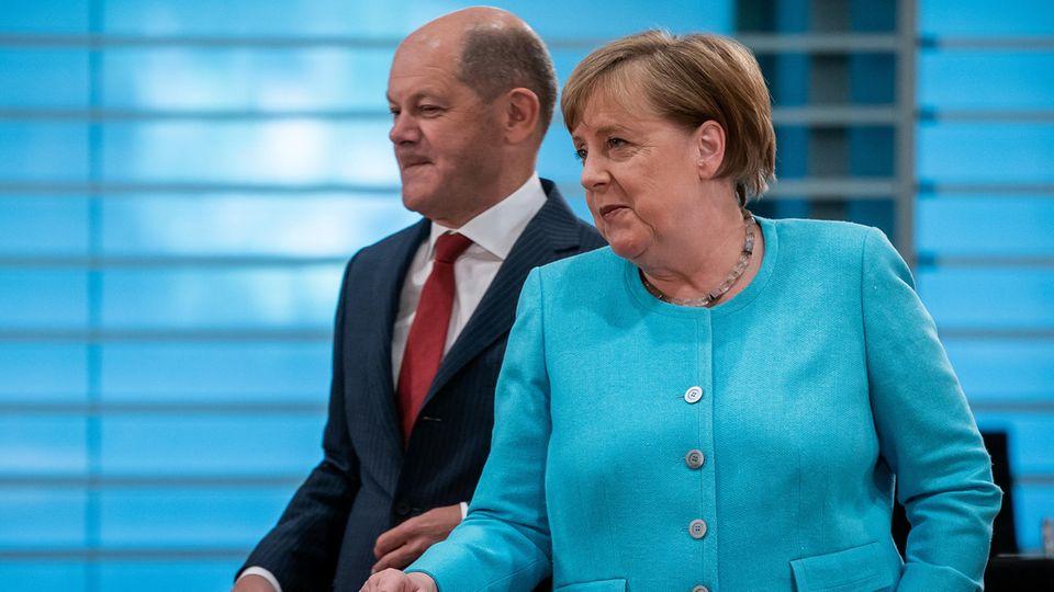 Merkel Scholz