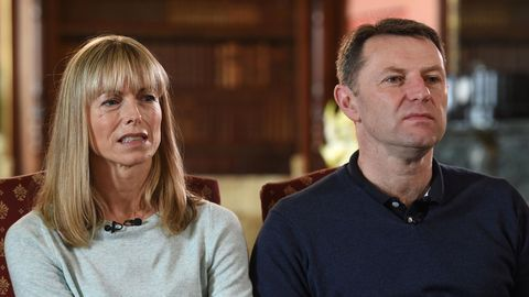 """Kate und Gerry McCann, die Eltern vonMadeleine """"Maddie"""" McCann"""