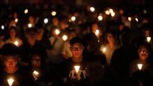 Kerzenandacht an das Tiananmen-Massaker