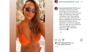 Vip News: Natascha Ochsenknecht postet Bikinifoto und zeigt ihre Narbe
