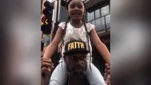 """""""Er liebte mit sehr"""" – George Floyds Tochter spricht über den Tod ihres Vaters"""