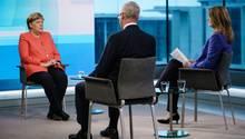 Angela Merkel in der ARD