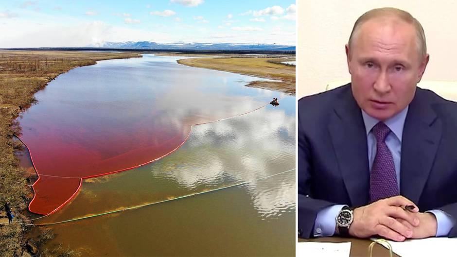 Naturkatastrophe von Norilsk: Putin attackiert Verantwortliche
