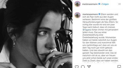 Marie Nasemann spricht über die Veränderung in ihrer Beziehung