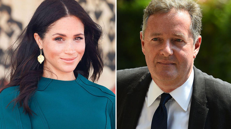 Herzogin Meghan und Piers Morgan