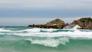 """Phänomen """"Kreuzsee"""": Bei quadratischen Wellen nie ins Wasser gehen"""