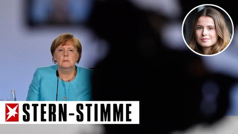 Angela Merkel bei der Vorstellung des 130-Milliarden-Pakets gegen die Auswirkungen der Coronakrise