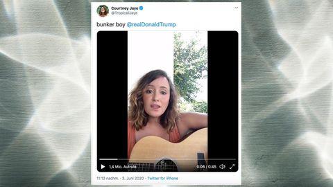 Courtney Jaye auf ihrem Twitter-Kanal