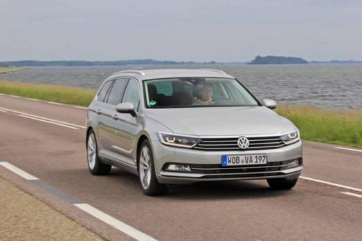 Bei den eigenen Dienstwagen tritt VW auf die Bremse