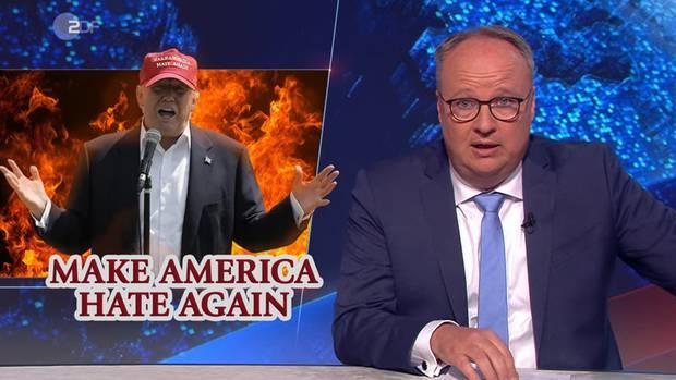 """Make America Hate Again - """"heute show""""-Moderator Oliver Welke wirft einen genaueren Blick auf US-Präsident Donald Trump und seinen Umgang in der Krise"""