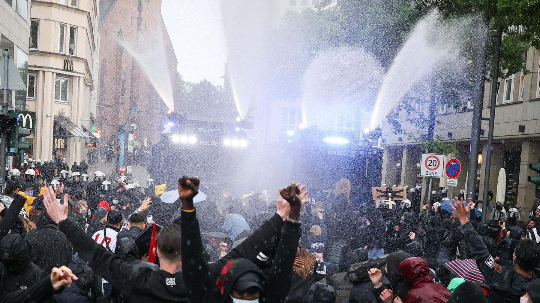 Deutschland: Anti-Rassismus-Demos
