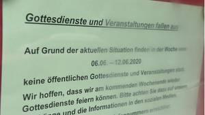 nachrichten deutschland - corona-quarantäne nach gottesdienst