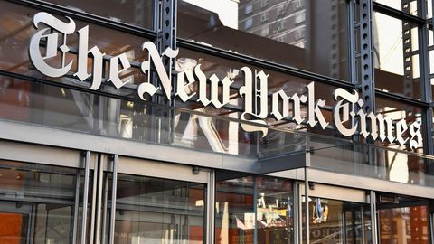 Haupteingang New York Times