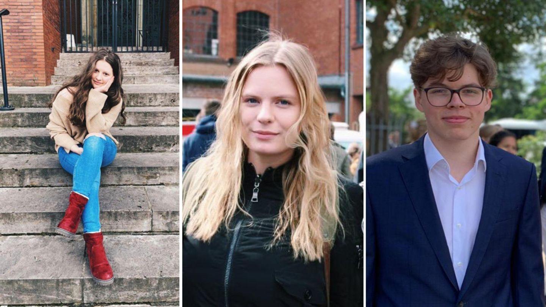 Aurora Kelmendi,Annika Krause und Linus Aschenberner (v. l.)haben NEON von ihren letzten Tagen in der Schule erzählt