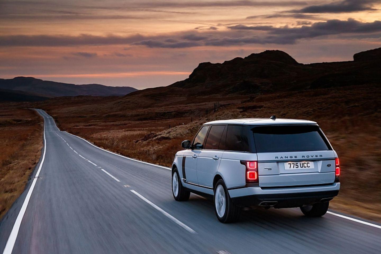 Mit dem Range Rover lässt es sich komfortabel reisen