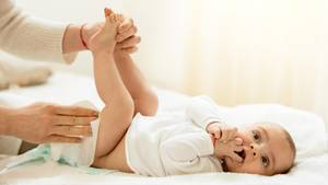 Ein wunder Baby-Po ist keine Seltenheit