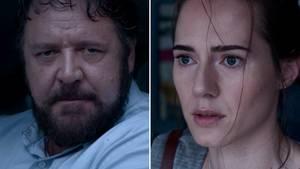 """Russell Crowe und Caren Pistorius im Thriller """"Unhinged"""""""