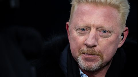 Boris Becker im vergangenen Februar in London
