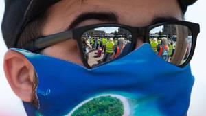 Mundschutz im Sommer: Tipps für die Masken bei heißen Temperaturen.