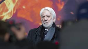 """Donald Sutherland (Präsident Snow in """"Die Tribute von Panem"""")"""